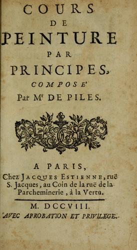 Download Cours de peinture par principes