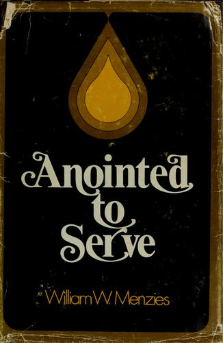 Download Anointed to serve