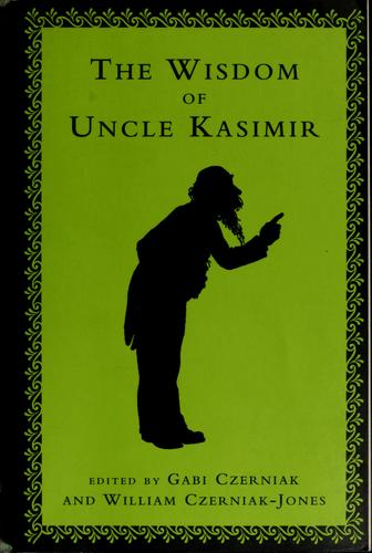 Download The wisdom of Uncle Kasimir