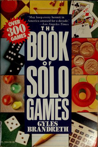 Book of Solo Games Gyles Brandreth
