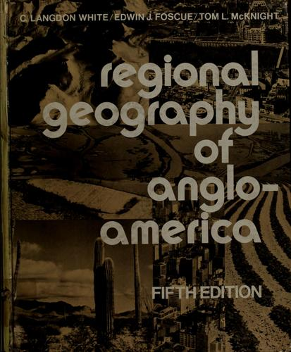 Download Regional geography of Anglo-America