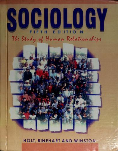 Sociology Study of Human Relations