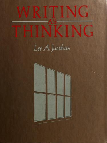 Writing as Thinking