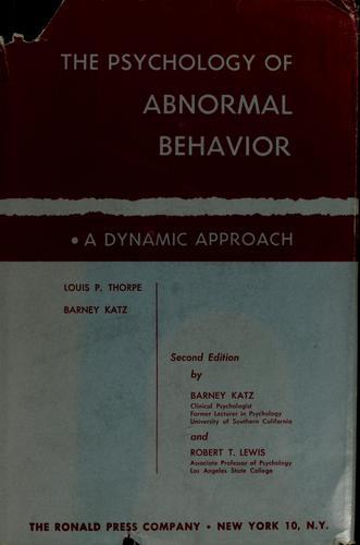 Download Studies in behavior pathology