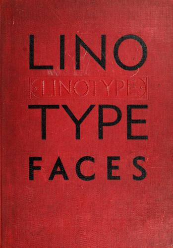 Download Specimen book linotype faces.