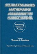 Download Standards-Based Mathematics Assessment in Middle School
