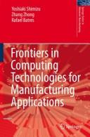 Download Frontiers in computing technologies for manufacturing applications