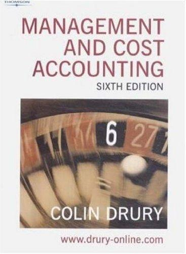 Download Management and Cost Accounting (Management & Cost Accounting)
