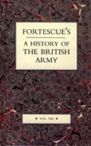 Download Fortescue's History of the British Army