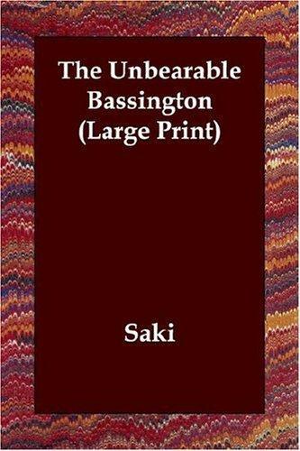 The Unbearable Bassington (Large Print)
