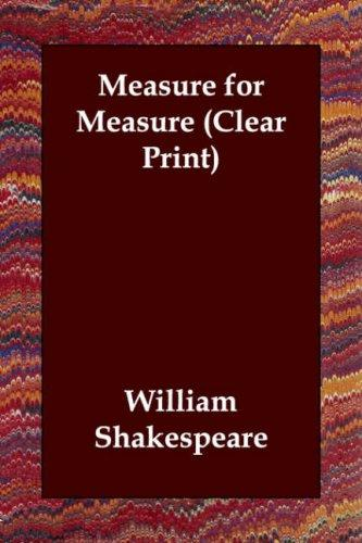 Download Measure for Measure (Clear Print)