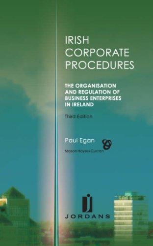 Download Irish Corporate Procedures