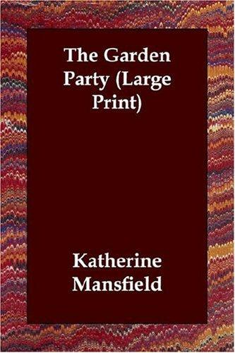 Download The Garden Party (Large Print)