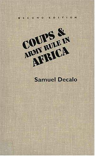 Download Coups & army rule in Africa