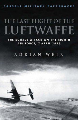 The last flight of the Luftwaffe
