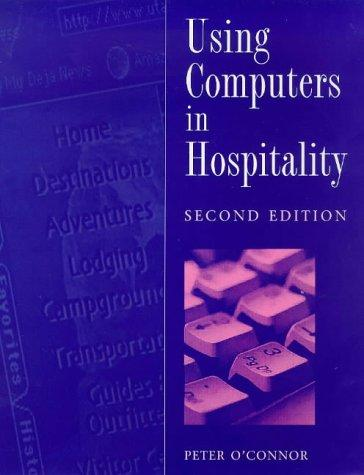 Download Using Computers in Hospitality