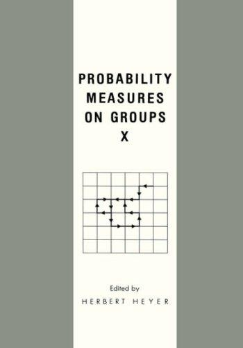 Probability Measures on Groups H. Heyer