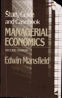 Download Managerial Economics/Study Guide