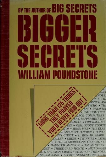Bigger secrets