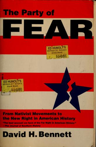 The party of fear