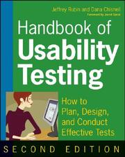 Handbook Of Usability Testing: How To Plan, Design, And Conduct Effective Tests PDF Download
