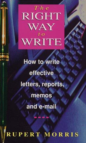 Download The Right Way to Write