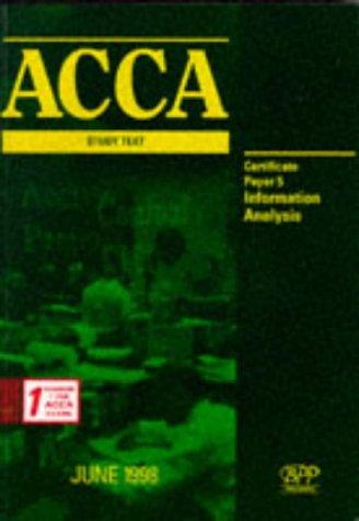 Download ACCA Study Text (ACCA Study Text: Certificate Paper)
