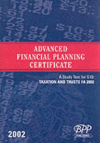 Download Advanced Financial Planning Certificate – G10