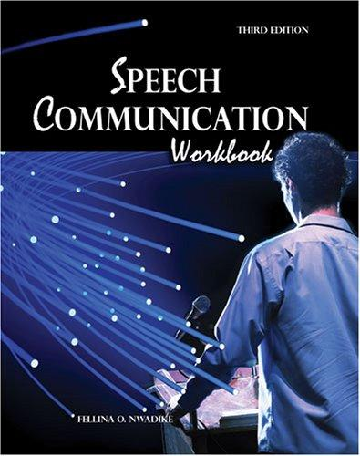 Download Speech Communication Workbook