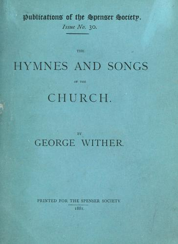 The hymnes and songs of the Church.
