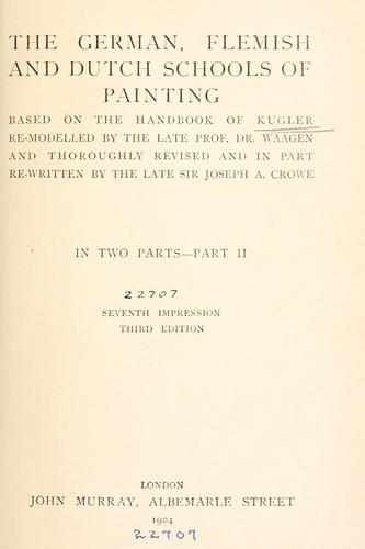 Download German, Flemish and Dutch schools of painting