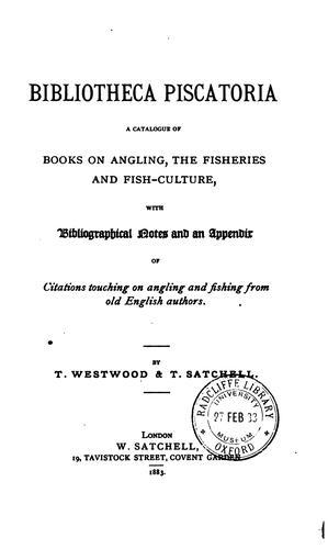Download Bibliotheca piscatoria