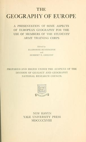 Download The geography of Europe