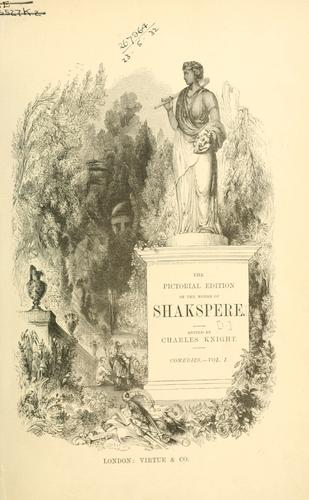 Download The pictorial edition of the works of Shakspere.