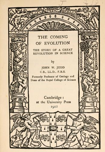 Download The coming of evolution