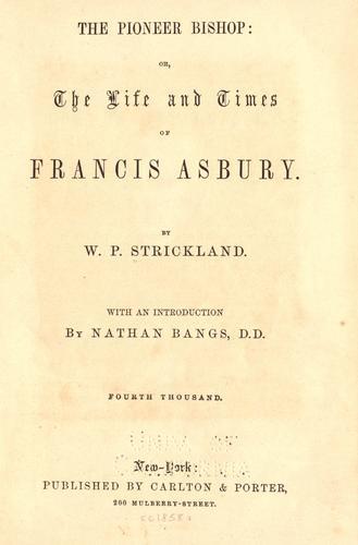 The pioneer bishop