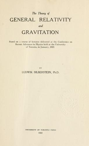 Download The theory of general relativity and gravitation