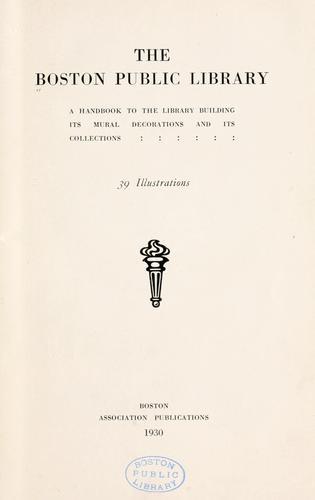 Download The Boston Public Library