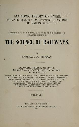 Download The science of railways
