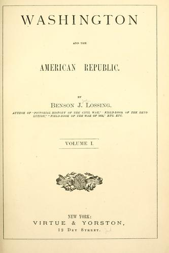 Download Washington and the American republic
