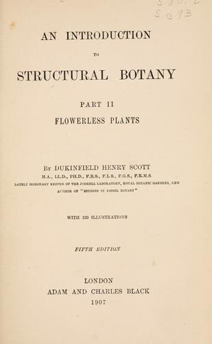 An introduction to structural botany.