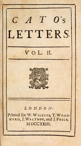 Download Cato's letters.