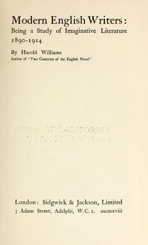 Download Modern English writers