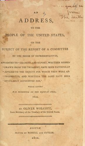 Download An address to the people of the United States