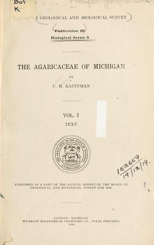 The Agaricaceae of Michigan