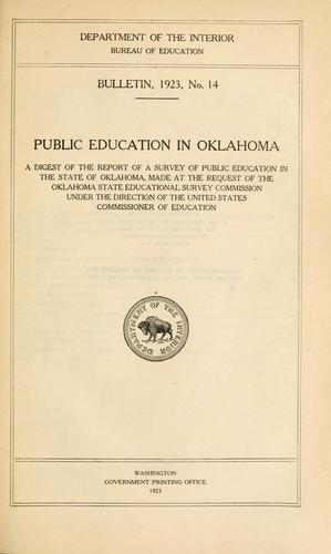 Public education in Oklahoma by