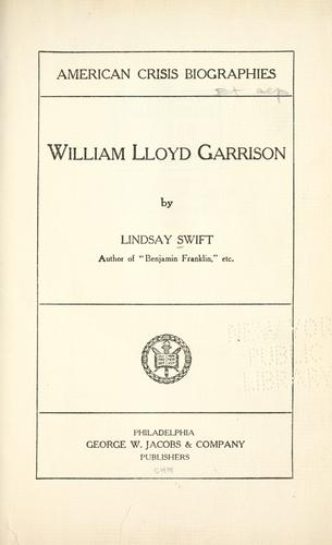 Download William Lloyd Garrison