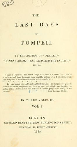 Download The last days of Pompeii