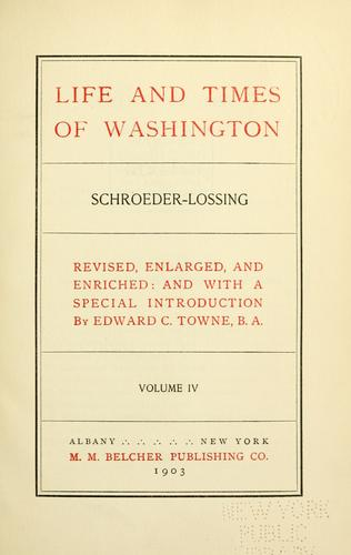 Download Life and times of Washington.