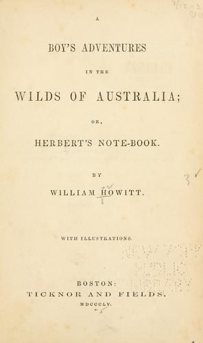 Download A boy's adventures in the wilds of Australia